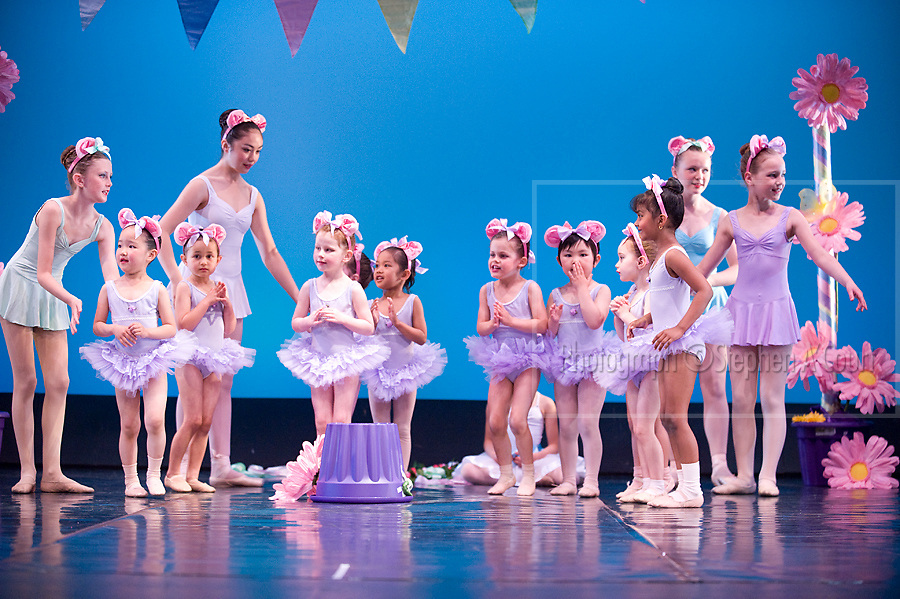 Wellington, NZ. 7.12.2013. Tiaras Group 1, from the Wellington Dance & Performing Arts Academy end of year stage-show 2013. Little Show, Saturday 10am. Photo credit: Stephen A'Court.  COPYRIGHT ©Stephen A'Court