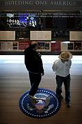 The William Jefferson Clinton Presidential Library in Arkansas.