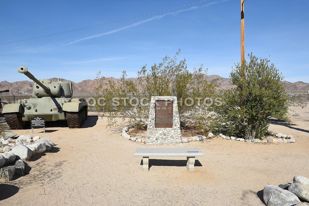 Congressional Medal of Honor Memorial and M26 Pershing Tank at the General Patton Memorial Museum