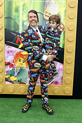 Perez Hilton at the Los Angeles premiere of 'The LEGO Ninjago Movie' held at the Regency Village Theatre in Westwood, USA on September 16, 2017.