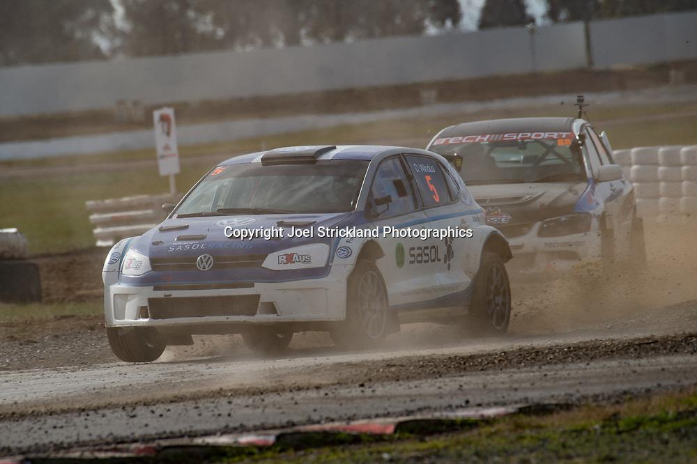 Darren Windus - Vw polo - Rallycross Australia - Winton Raceway - 16th July 2017