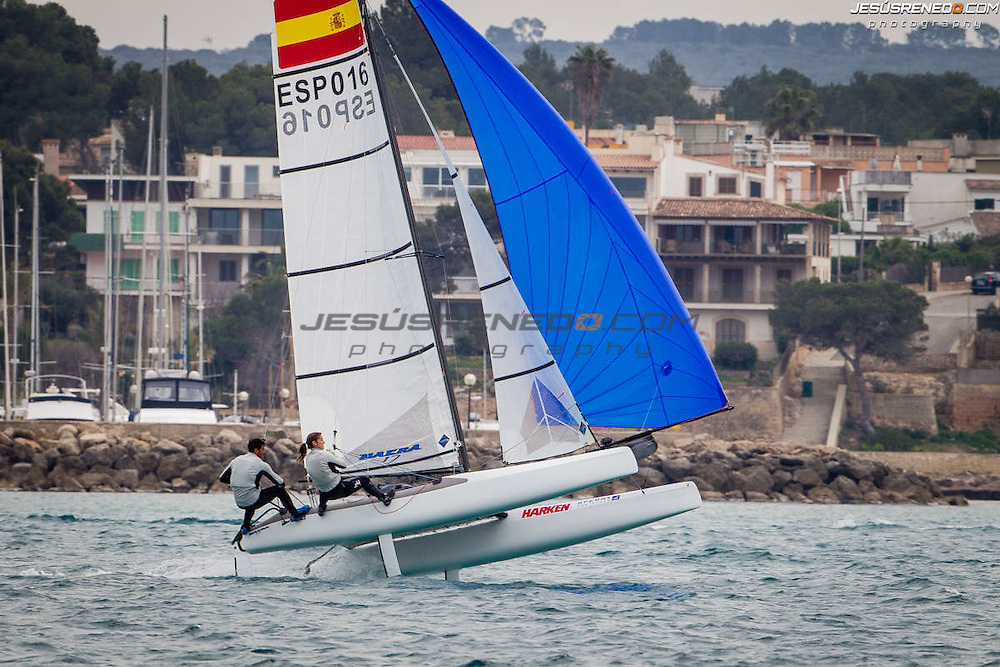 Palma de Mallorca, Spain, Arenal Training Camps 2014.