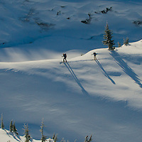 Rogers Pass, Canada backcountry skiers