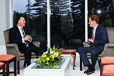 Auckland-Prince Harry meets leaders