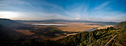 Ngorongoro Crater in Tanzania, the world's largest caldera and a World Herritage Site since 1979.