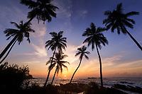 Sunrise over the Indian Ocean, Tangalle, Sri Lanka