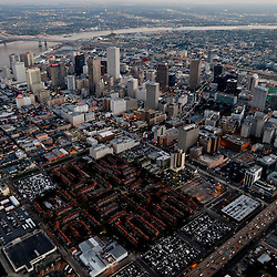 Feb 5, 2013; New Orleans, LA, USA;  An aerial view of the city of New Orleans. Mandatory Credit: Derick E. Hingle-USA TODAY Sports