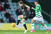 Forest Green Rovers Dayle Grubb(8) controls the ball during the EFL Sky Bet League 2 match between Yeovil Town and Forest Green Rovers at Huish Park, Yeovil, England on 8 December 2018.