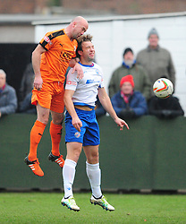 STEVE NOAKES HARTLEY WINTNEY BEATS RUSHDEN TOM LORRAINE, AFC Rushden & Diamonds v Hartley Wintney FC Hayden Road, Evo Stik League South East Saturday 2nd December 2017 Score 2-0, Rushden go top of League, Photo:Mike Capps