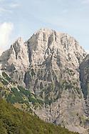 Peak near the Valbona Pass, Peaks of the Balkans Trail, Albania © Rudolf Abraham