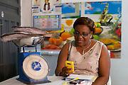 Aniema Edem runs Rasa Venture, a frozen food and ice business.<br /> <br /> Aniema was a contractor living in Lagos, working for ExxonMobile. She used to travel home to this area to visit her aging parents and she noticed that the convenient frozen food, widely available in Lagos, were not available in Uyo. She saw a gap in the market and decided to establish her business. <br /> <br /> She is a member of a women's business group and through them heard about Youth for Technology's training and the business support text messaging service.<br /> <br /> The main things she learnt from the training was around risk management and from the text messaging it was around staff management.