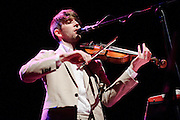 Musician Owen Pallett performing at the Pageant in St. Louis on September 30, 2010.