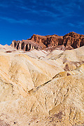 Eroded hills from Zabriskie Point, Death Valley National Park. California