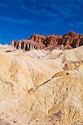 Eroded hills from Zabriskie Point, Death Valley National Park. California