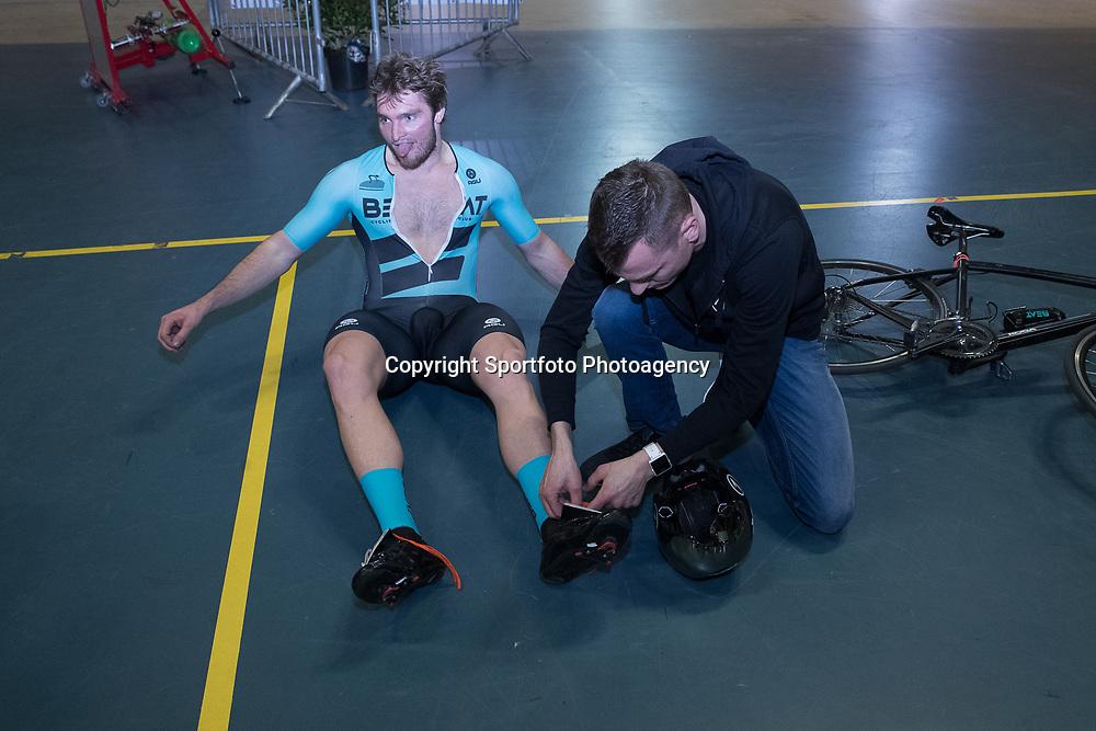 27-12-2017: Wielrennen: NK Baan: Alkmaar<br />Mathijs Buchli pakt in de belle de nederlandse titel