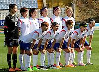 Fifa Womans World Cup Canada 2015 - Preview //<br /> Cyprus Cup 2015 Tournament ( Gsz Stadium Larnaca  - Cyprus ) - <br /> Canada vs South Korea 1-0  // Team Group of South Korea , from the left up :<br /> KIM Jungmi ,LIM Seonjoo ,SEO Hyunsook ,SHIN Damyeong ,SHIM Seoyeon ,CHO Sohyun //<br /> JUNG Seolbin ,YEO Minji ,YOO Younga ,KWON Hahnul ,LEE Jeongeun
