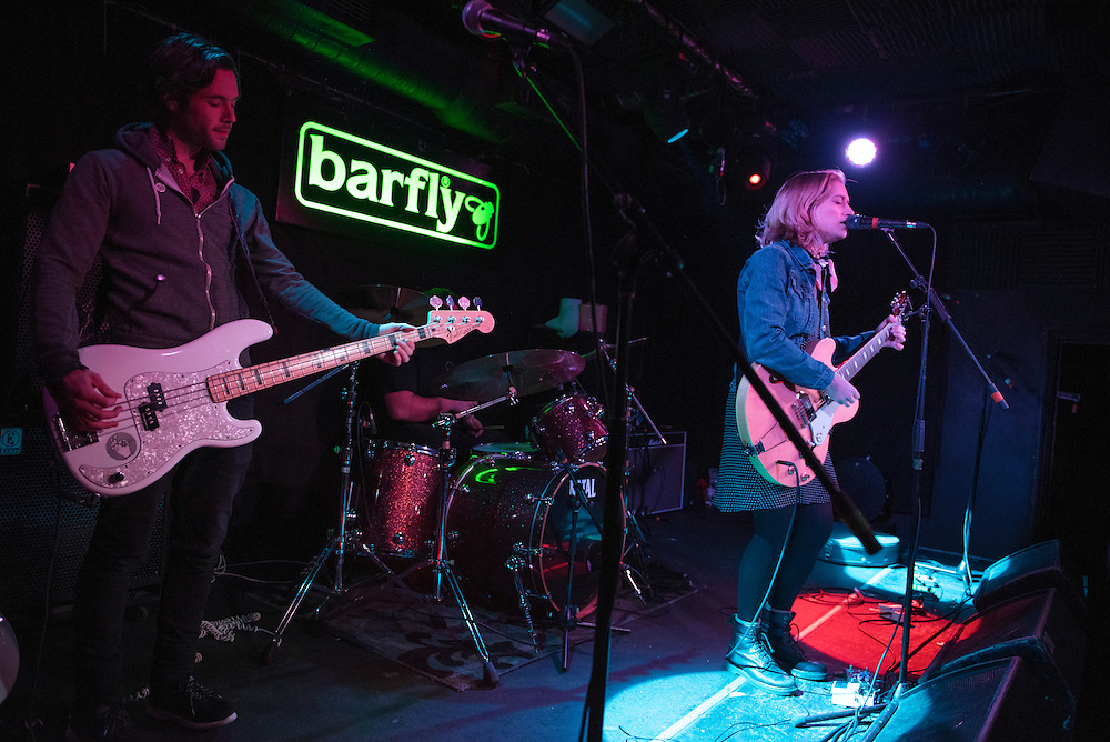 Petal, live at the Barfly, Camden on 27th January 2016.