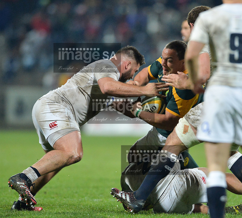 GEORGE, SOUTH AFRICA - JUNE 17: Coenie Oosthuizen of South Africa during the match between South Africa 'A' and England Saxons at Outeniqua Park on June 17 2016 in George, South Africa. (Photo by Roger Sedres/Gallo Images)