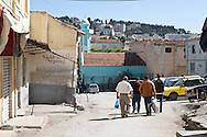 Algeria. Constantine. former jewish area where the family of Enrico Macias was living, Biscara street , in the old city,    / Algerie, Constantine.  vielle ville ancien quartier juif ou vecut Enrico macias, rue Biscara    19