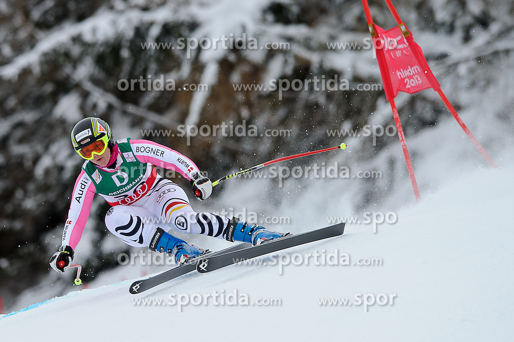 06.02.2013, Planai, Schladming, AUT, FIS Weltmeisterschaften Ski Alpin, Abfahrt, Damen, 1. Training, im Bild Gina Stechert (GER) // Gina Stechert of Germany in action during 1st practice of Ladies Downhill at the FIS Ski World Championships 2013 at the Planai Course, Schladming, Austria on 2013/02/06. EXPA Pictures © 2013, PhotoCredit: EXPA/ Sandro Zangrando