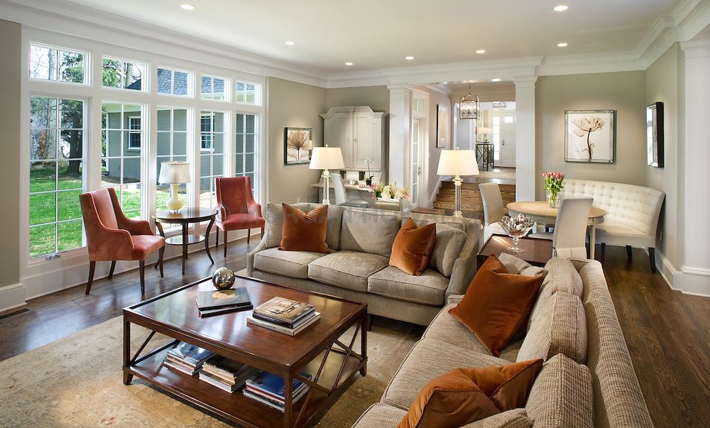 1900 Virginia Ave. McLean, VA contractor JK developement Home Living Room