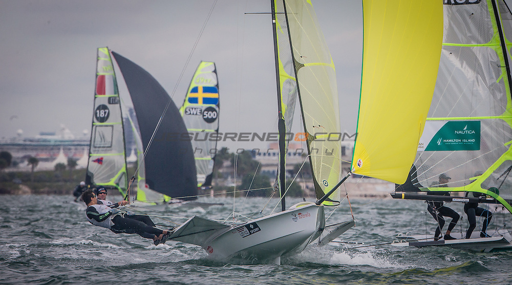 Sailing World Cup Miami is the second of six regattas in the 2016 series. From 25-30 January 2016, Coconut Grove, Miami, United States of America is hosting more than 780 sailors who are competing across the ten Olympic and two Paralympic classes on the beautiful waters of Biscayne Bay.