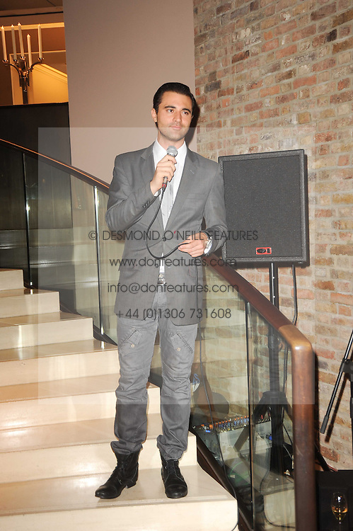 DARIUS CAMPBELL at Asprey, New Bond Street as part of Fashion's Night Out held around London on 8th September 2010.