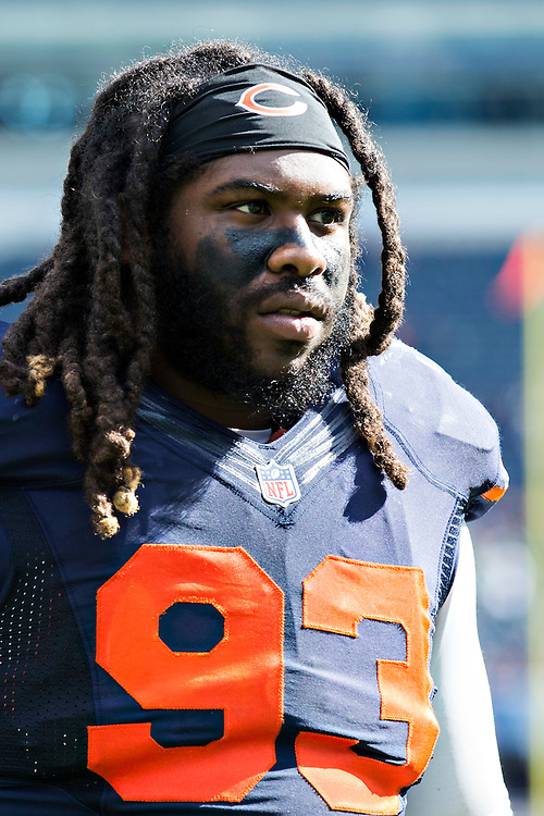 CHICAGO, IL - SEPTEMBER 13:  Will Sutton #93 of the Chicago Bears walks off the field after a game against the Green Bay Packers at Soldier Field on September 13, 2015 in Chicago, Illinois.  The Packers defeated the Bears 31-23.  (Photo by Wesley Hitt/Getty Images) *** Local Caption *** Will Sutton