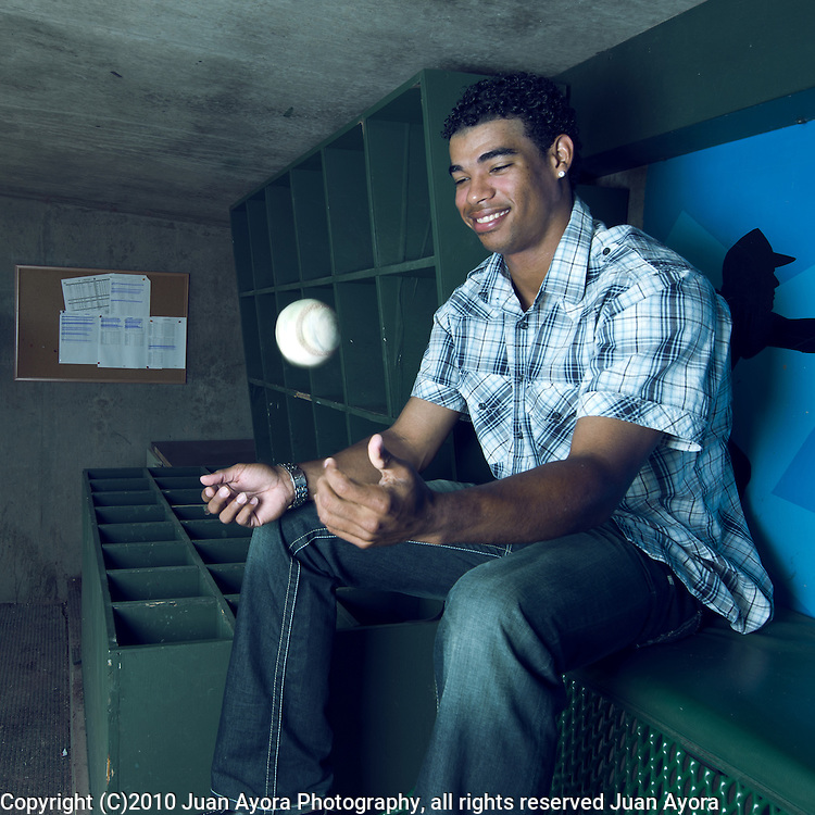 Edward Paredes, Baseball Pitcher from the Dominican Republic.<br /> California Sports Management<br /> Production: Thomas Dodson