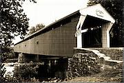Built in 1860, Eldean Covered Bridge, Troy, OH