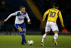 Niall Maher of Bury passes the ball - Mandatory by-line: Robbie Stephenson/JMP - 24/10/2016 - FOOTBALL - Gigg Lane - Bury, England - Bury v Bolton Wanderers - Sky Bet League One