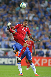 19.05.2012, Allianz Arena, Muenchen, GER, UEFA CL, Finale, FC Bayern Muenchen (GER) vs FC Chelsea (ENG), im Bild Bayern's German defender Jérôme Boateng and Chelsea's Ivory Coast forward Didier Drogba in action during the Final Match of the UEFA Championsleague between FC Bayern Munich (GER) vs Chelsea FC (ENG) at the Allianz Arena, Munich, Germany on 2012/05/19. EXPA Pictures © 2012, PhotoCredit: EXPA/ Mitchel Gunn