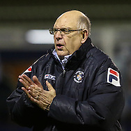 John Still, Manager of Luton Town, during the The FA Cup match at Kenilworth Road, Luton<br /> Picture by David Horn/Focus Images Ltd +44 7545 970036<br /> 16/12/2014