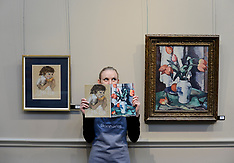 Peploe masterpiece and jewellery auction photocall, Edinburgh, 23 November 2018