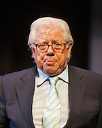 March 20, 2012 - Hempstead, New York, U.S. - CARL BERNSTEIN, investigative journalist, answers audience questions after speaking on 40th Anniversary of the Watergate political scandal, at Hofstra University.