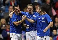Football - League Cup - Rangers vs Motherwell<br /> <br /> Lee McCulloch of Rangers celebrates the opening goal during Rangers vs Motherwell Communities League Cup Third Round match at Ibrox Stadium, Glasgow.(Ian MacNicol/Colorsport)<br /> <br /> 26th September 2012