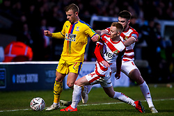 Max Meyer of Crystal Palace rakes on Ali Crawford of Doncaster Rovers - Mandatory by-line: Robbie Stephenson/JMP - 17/02/2019 - FOOTBALL - The Keepmoat Stadium - Doncaster, England - Doncaster Rovers v Crystal Palace - Emirates FA Cup fifth round proper
