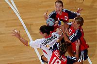 Håndball<br /> Foto: DPPI/Digitalsport<br /> NORWAY ONLY<br /> <br /> PARIS ILE DE FRANCE TOURNAMENT 2004<br /> PARIS (FRA) - 06/12/2004<br /> <br /> NORGE V SPANIA<br /> <br /> GRO HAMMERSENG (NOR) - LUNDE - RIEGELHUTH