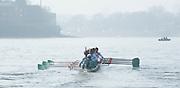 London, Great Britain,  CUBC, Blue Boat  Ian MIDDLETON (Cox), Henry HOFFSTOT, Ben RUBLE, Matthew JACKSON, William WARR, Alexander LEICHTER, Joshua HOOPER, Luke JUCKETT, Jasper HOST (Bow) BNY Mellon, University Men's Boat Race Tideway Week, Putney to Mortlake. ENGLAND. <br /> <br /> Thursday 09/04/2015<br /> <br /> [Mandatory Credit;Intersport-images]