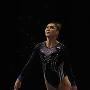 McKayla Maroney, Long Beach, California, during the Senior Women Competition at The 2013 P&G Gymnastics Championships, USA Gymnastics' National Championships at the XL, Centre, Hartford, Connecticut, USA. 17th August 2013. Photo Tim Clayton