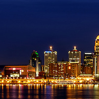Louisville Skyline Twilight