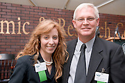 18414Academic & Research Center Groundbreaking September 29, 2007....Dennis Erwin and Colleen Girton