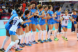 INNO<br /> ITALIA - RUSSIA<br /> VOLLEYBALL WORLD GRAND PRIX 2016<br /> BARI 19-06-2016<br /> FOTO GALBIATI - RUBIN