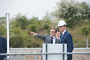 14/05/2017  Repro Free:  Minister Simon Coveney was in Kinvara to officially open the new wastewater treatment plant which was constructed following an investment of €5.1 million by Irish Water. . Photo:Andrew Downes, xposure