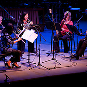 May 14, 2011 - Manhattan, NY : .The Quintet of the Americas performs during Symphony Space's Wall to Wall Sonidos concert on Saturday night. .CREDIT: Karsten Moran for The New York Times