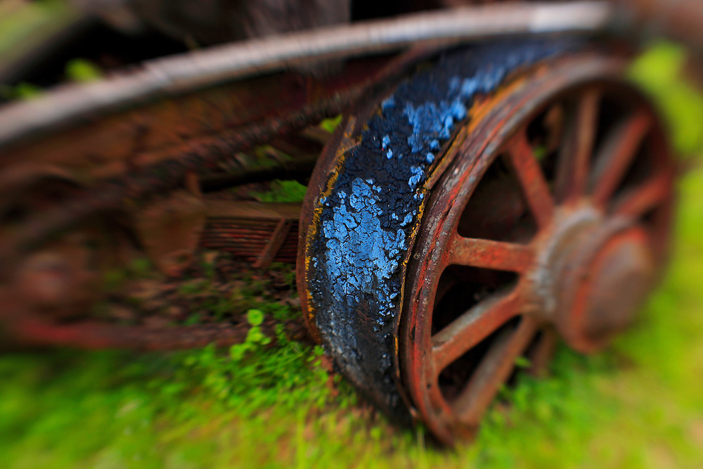 Decay Of The Machine - Pottsville - Merlin, Oregon - Lensbaby