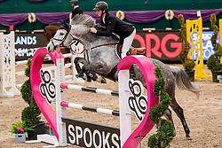 FLÜCKEN Gerrit (GER), California's Sister<br /> Leipzig - Partner Pferd 2019<br /> SPOOKS-Amateur Trophy<br /> Medium Tour<br /> 17. Januar 2019<br /> © www.sportfotos-lafrentz.de/Stefan Lafrentz