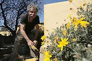Jean-Pierre Martin, le maître des lieux depuis 42 ans, Auberge de Jeunesse La Fontasse, Les Calanques, Cassis, France.