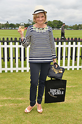 COUNTESS MAYA VON SCHONBURG at the Cartier Queen's Cup Final polo held at Guards Polo Club, Smith's Lawn, Windsor Great Park, Egham, Surrey on 15th June 2014.