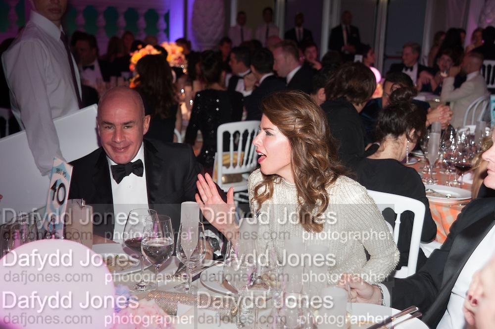 JOHAN ELIASCH; CHRISTINA ESTRADA, Grey Goose Winter Ball to benefit the Elton John Aids Foundation. Battersea Power Station. London. 10 November 2012.